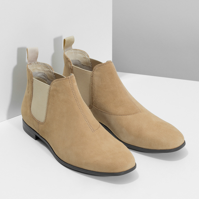 Kožené členkové Chelsea Boots vagabond, hnedá, 513-4098 - 26