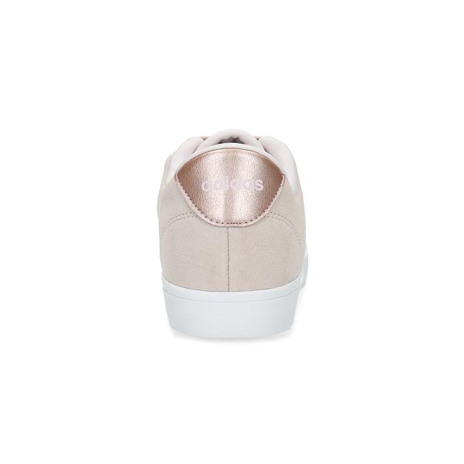 Ružové tenisky z brúsenej kože adidas, ružová, 503-2554 - 15