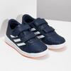Modré detské tenisky na suchý zips adidas, modrá, 301-9151 - 26