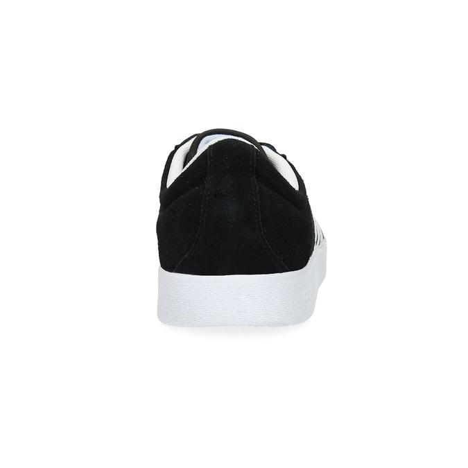 Čierne dámske tenisky z brúsenej kože adidas, čierna, 503-6379 - 15