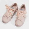 Ružové tenisky so saténovou mašľou pepe-jeans, ružová, 541-5076 - 16