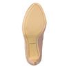 Kožené lodičky s perforáciou insolia, 726-5654 - 19