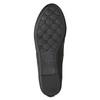 Čierne dámske baleríny s mašličkou bata, čierna, 521-6611 - 19