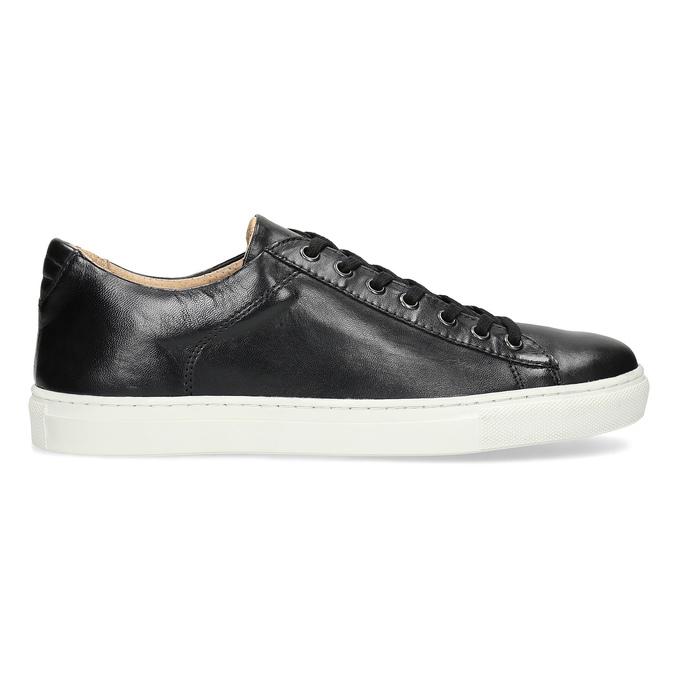Pánske kožené tenisky bata, čierna, 844-6648 - 19
