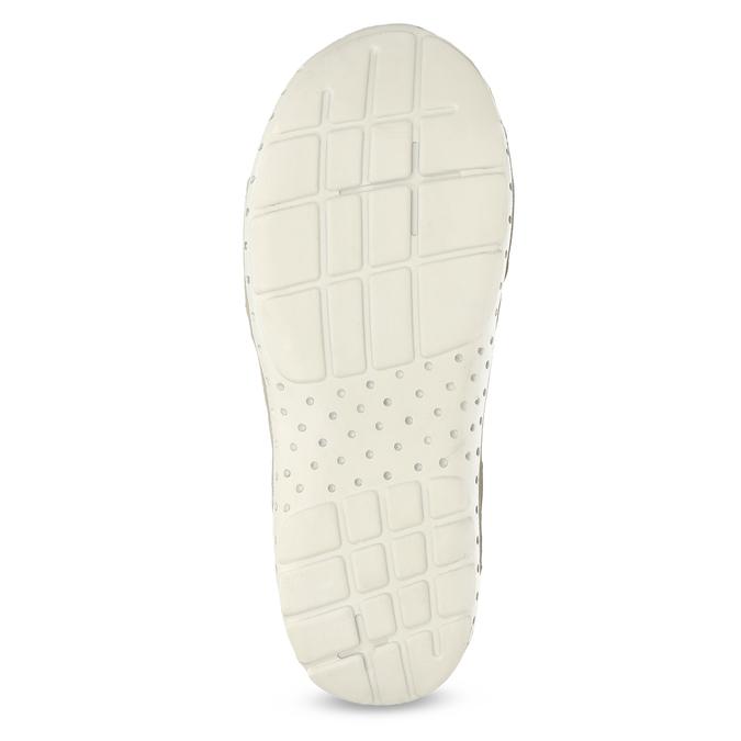 Kožené dámske sandále v Outdoor štýle weinbrenner, biela, 566-1608 - 18