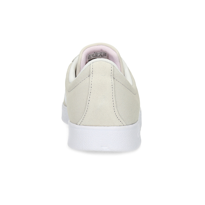 Béžové dámske kožené tenisky adidas, béžová, 503-8379 - 15