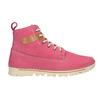 Kožená ružová členková obuv weinbrenner, 594-5666 - 16