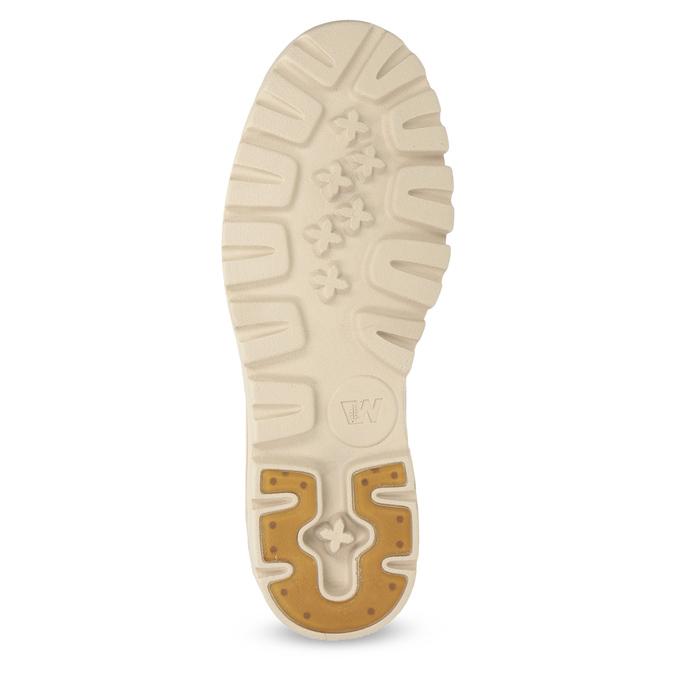 Dámska kožená členková obuv weinbrenner, modrá, 594-9666 - 18