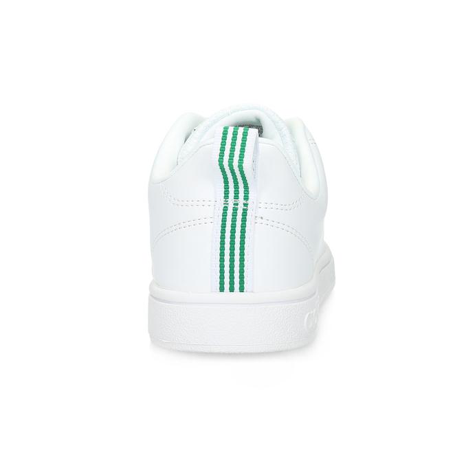 Biele tenisky so zelenými detailami adidas, biela, 501-1300 - 15
