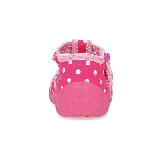 Dievčenské ružové papuče mini-b, 179-5601 - 15