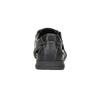 Pánske kožené sandále s prešitím comfit, čierna, 856-6605 - 15