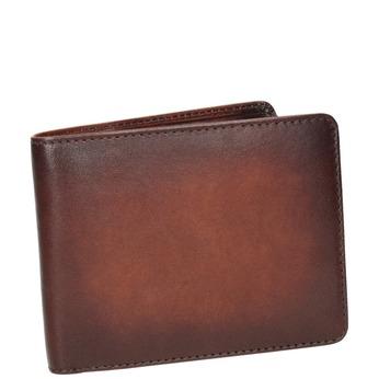 Pánska kožená Ombré peňaženka bata, hnedá, 944-3193 - 13