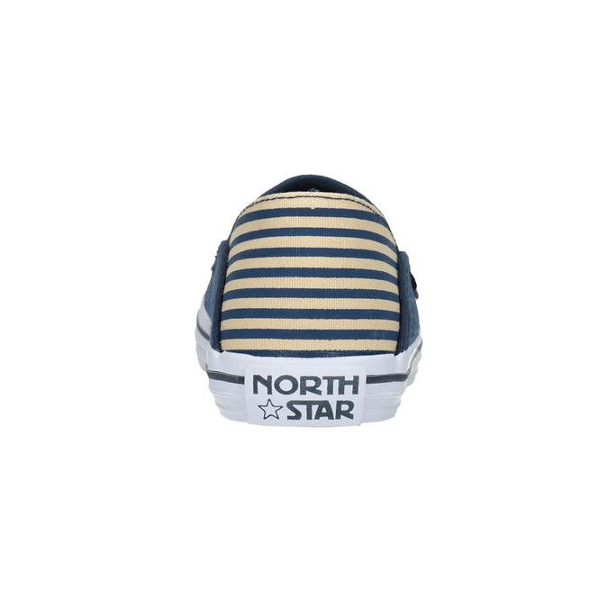 Detské Slip-on v denimovom štýle north-star, modrá, 419-9615 - 15