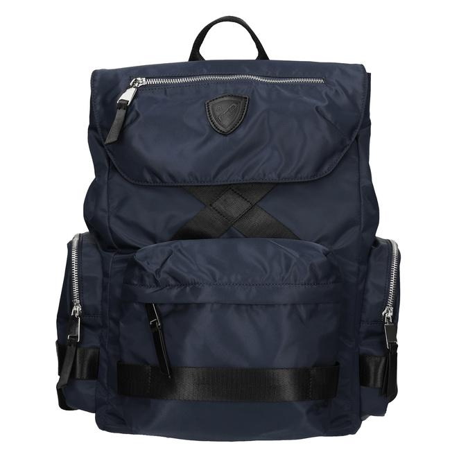 Modrý pánsky textilný batoh atletico, modrá, 969-9677 - 26