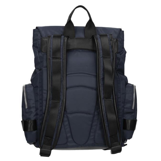 Modrý pánsky textilný batoh atletico, modrá, 969-9677 - 16