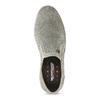 Slip-on z brúsenej kože weinbrenner, šedá, 833-8603 - 17