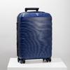 Menší cestovný kufor na koliečkach roncato, modrá, 960-9608 - 19
