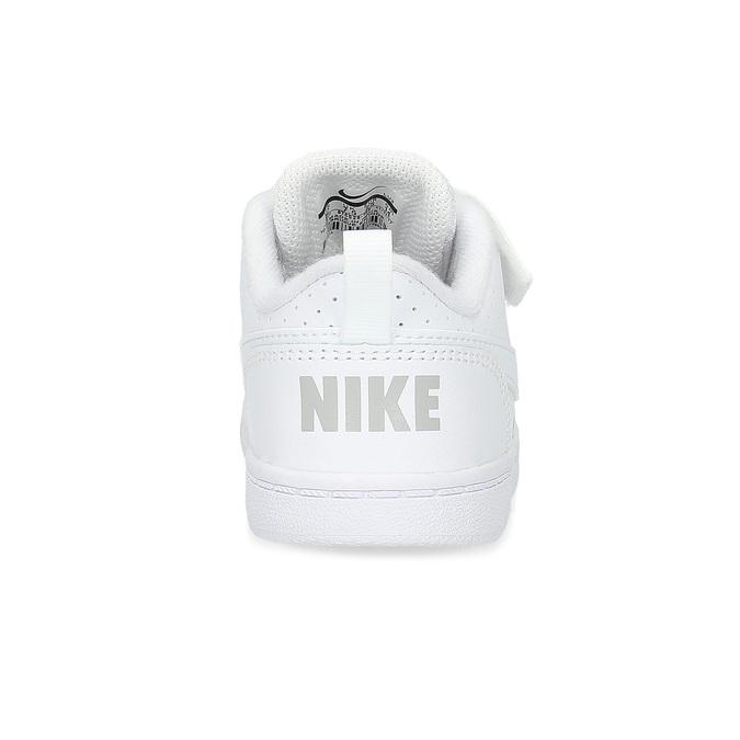 Biele detské tenisky so suchým zipsom nike, biela, 101-1154 - 15