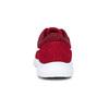 Červené detské tenisky s bielou podrážkou nike, červená, 409-5502 - 15