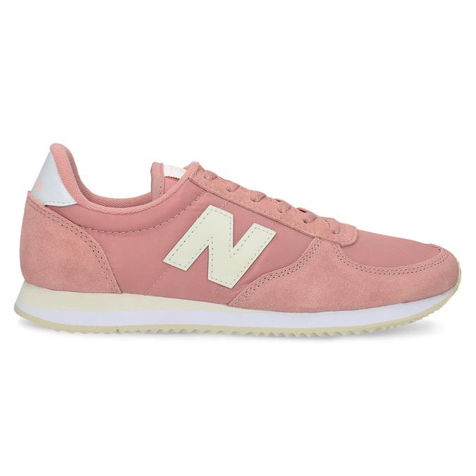 Ružové dámske tenisky new-balance, ružová, 509-5871 - 19