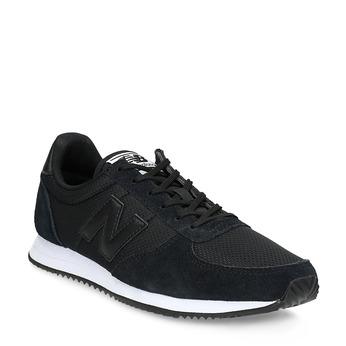 Čierne dámske tenisky športovného strihu new-balance, čierna, 509-6871 - 13