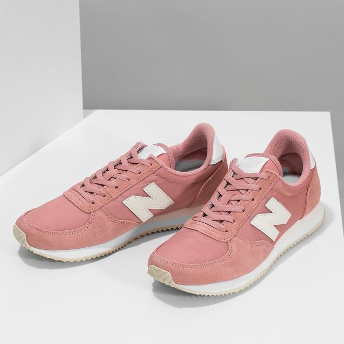 Ružové dámske tenisky new-balance, ružová, 509-5871 - 16