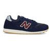 Pánske modré kožené tenisky New Balance new-balance, modrá, 803-9207 - 19