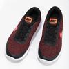 Pánske tenisky s pleteným zvrškom nike, červená, 809-5716 - 16