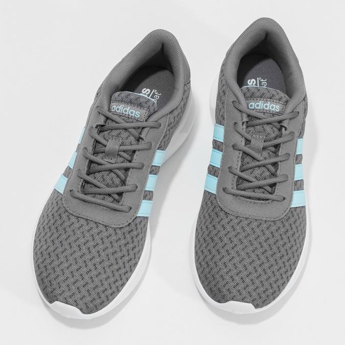 Adidas šedé dámske tenisky adidas, šedá, 509-2435 - 16