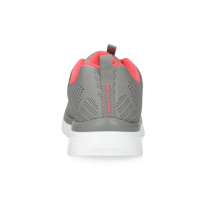 Dámske športové ružovo-šedé tenisky skechers, šedá, 509-2418 - 15