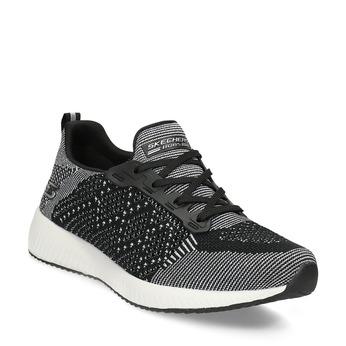 Dámske čierno-biele tenisky skechers, čierna, 509-6990 - 13