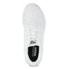 Biele dámske tenisky s čipkou adidas, biela, 509-1112 - 17