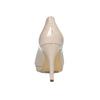 Kožené lakované lodičky hogl, béžová, 728-8069 - 15