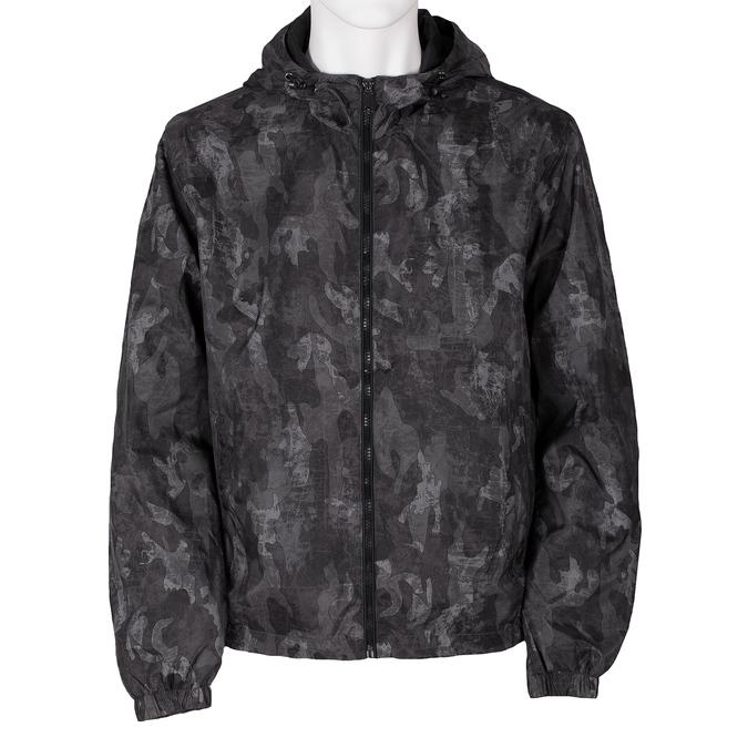 Pánska šedá bunda s maskáčovým vzorom bata, šedá, 979-2127 - 13