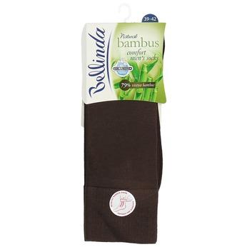 Pánske čierne antibakteriálne vysoké ponožky bellinda, hnedá, 919-4264 - 13