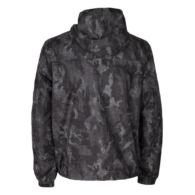 Pánska šedá bunda s maskáčovým vzorom bata, šedá, 979-2127 - 26