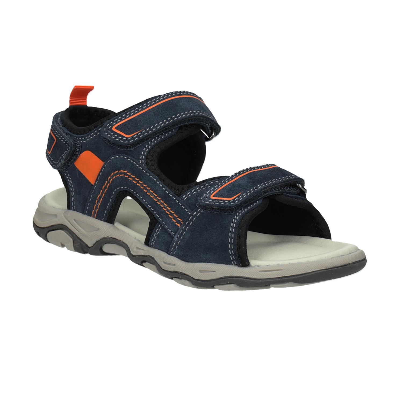 512ec295ddee Mini B Chlapčenské kožené sandále - Všetky chlapčenské topánky
