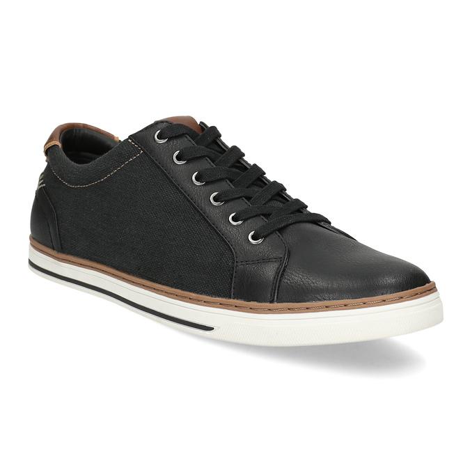 Pánske ležérne tenisky bata-red-label, čierna, 841-6616 - 13