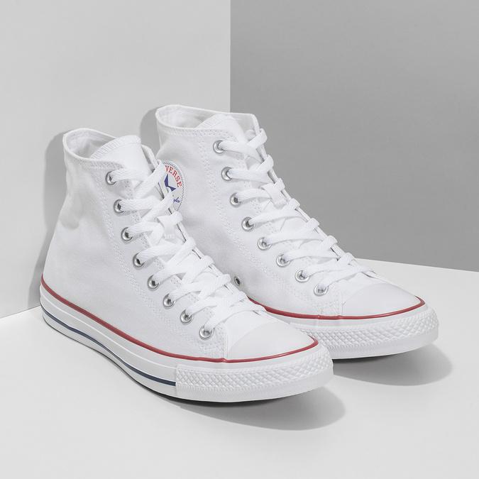 Klasické pánske biele tenisky converse, biela, 889-1278 - 26