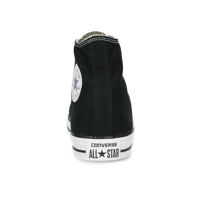 Dámske členkové tenisky s gumovou špičkou converse, čierna, 589-6278 - 15