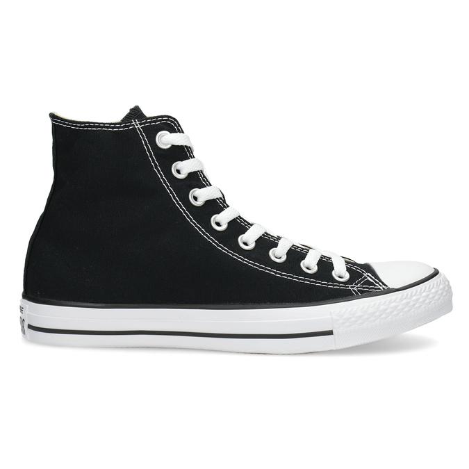 Pánske čierno-biele tenisky s gumovou špičkou converse, čierna, 889-6278 - 19