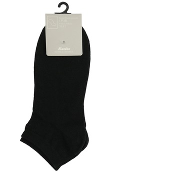 Pánske čierne členkové ponožky bata, čierna, 919-6802 - 13