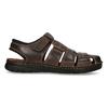Kožené sandále so zavretou špičkou bata, hnedá, 866-4616 - 19
