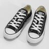 Dámske čierne tenisky s gumovou špičkou converse, čierna, 589-6279 - 16
