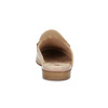 Kožené mokasíny s voľnou pätou a zlatou prackou hogl, ružová, 516-8009 - 15