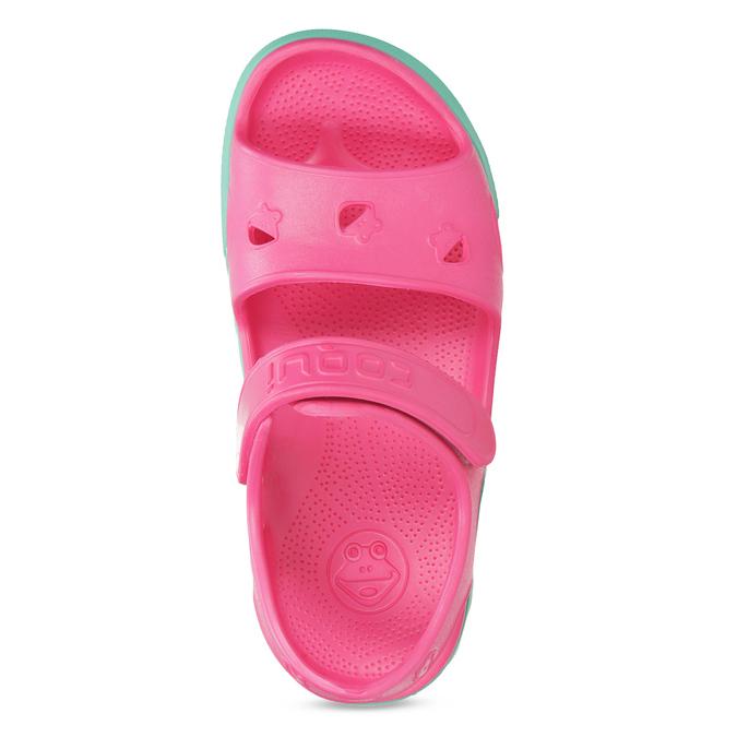 Detské ružové sandále dievčenské coqui, ružová, 372-5658 - 17
