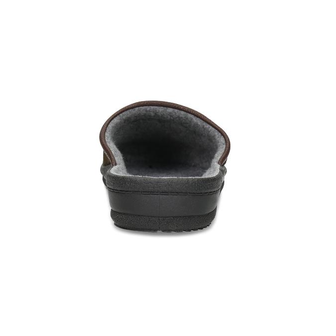 Pánska domáca obuv bata, hnedá, 879-4600 - 15