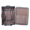 Veľký tyrkysový textilný kufor na kolieskach roncato, modrá, 969-9719 - 17