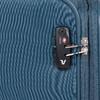 Veľký tyrkysový textilný kufor na kolieskach roncato, modrá, 969-9719 - 15