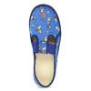 Modré detské prezuvky s futbalistami bata, modrá, 279-9129 - 17